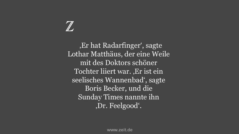 Hans-Wilhelm Müller-Wohlfahrt: Der Arzt, seine Haut und die Pille