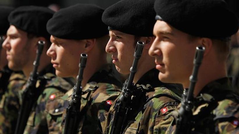 Schweizer Armee: Soldat Secondo