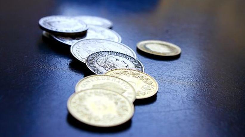 Schweizer Franken: Schweizer Geldmünzen