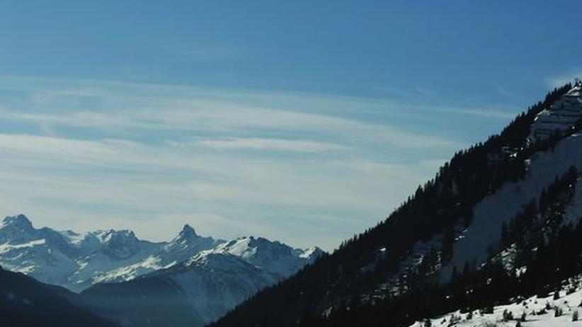 Europäische Alpen: Das Skigebiet Lech/Matterhorn