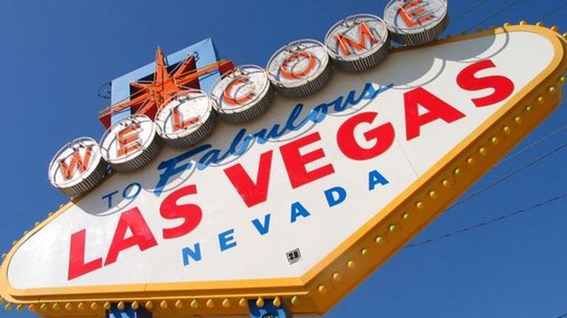 """Leuchtreklame mit der Aufschrift """"Las Vegas"""""""
