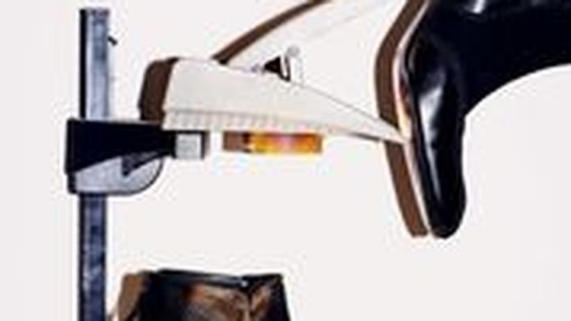 Endlich der passende Schuh für den Gernegroß: Von Bottega Veneta, 850 Euro