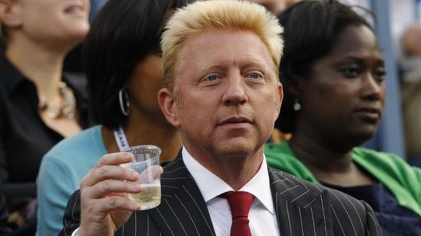 Boris Becker bei den US-Open im September 2012