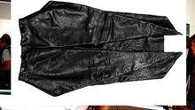 Schwarzer Lederrock von Haider Ackermann für 1359 Euro