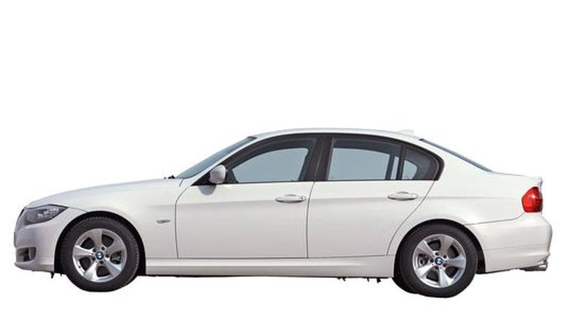 BMW 320d: Von A nach B