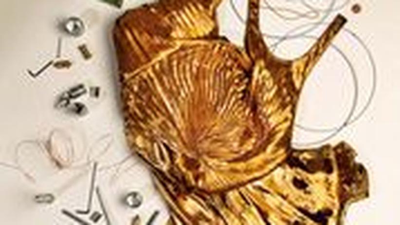 Stilkolumne: Schöner Schein: Goldenes Kleid von Ralph Lauren Collection 8950 Euro