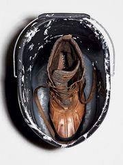 Dieser Schuh aus Amphibiox-Gewebe hat eine komplett wasserdichte Membran – von Geox, 160 Euro