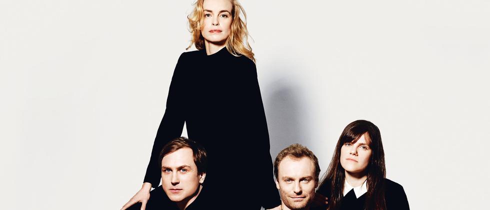 Lars Eidinger, Nina Hoss, Mark Waschke und Fritzi Haberlandt