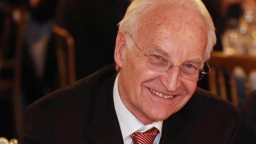 """Edmund Stoiber: """"Der schönste Lattenschuss ist auch kein Tor"""""""