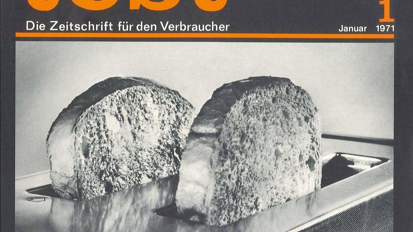 """Ein Cover der Zeitschrift """"test"""" von 1971"""