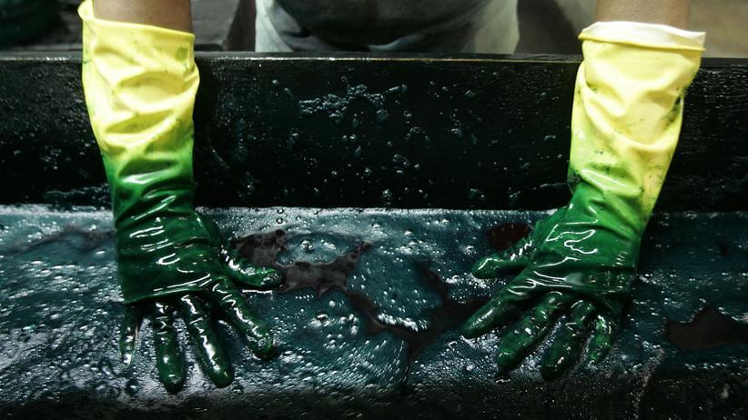 Blog Grüne Geschäfte: Färben ohne Wasser