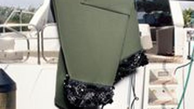 Schulterfreies Prada-Kleid
