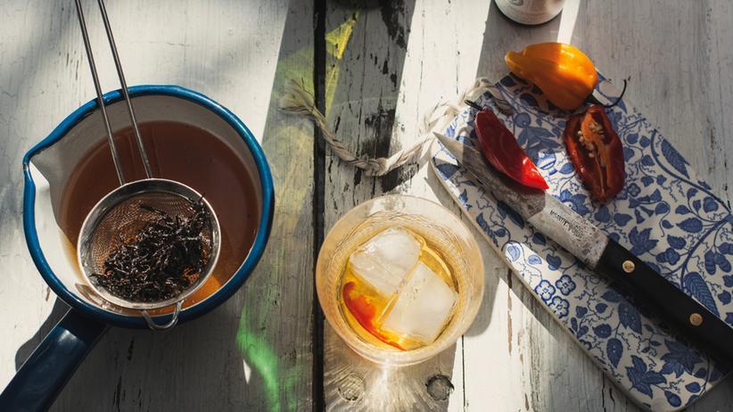 Serie Wochenmarkt: Ein scharfer Drink