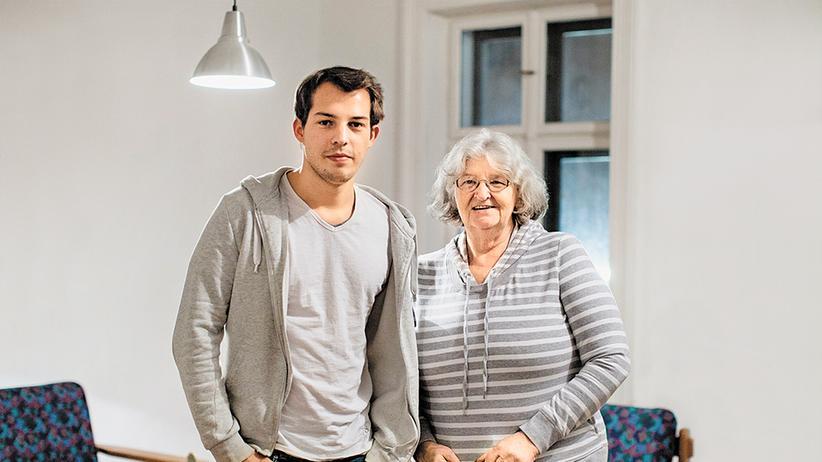 Wohnprojekt: Christl Reil und Max Steiner teilen sich eine Wohnung im Vinzirast-Haus