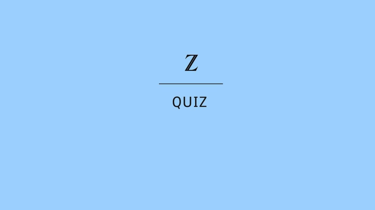 Zeit Quiz Des Tages