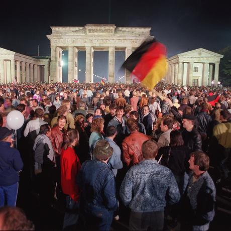 Am 3. Oktober 1990 vor dem Brandenburger Tor