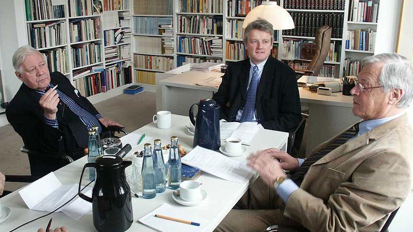 Helmut Schmidt: Das Ritual