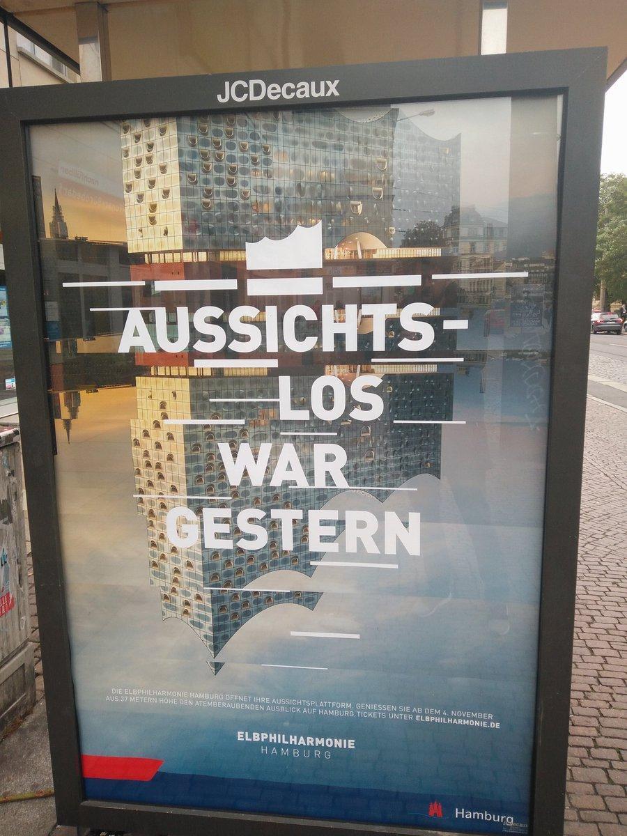 Hamburg kann doch selbstironisch. Jedenfalls außerhalb von Hamburg... (aufgenommen am 29.Okt. in Dresden)