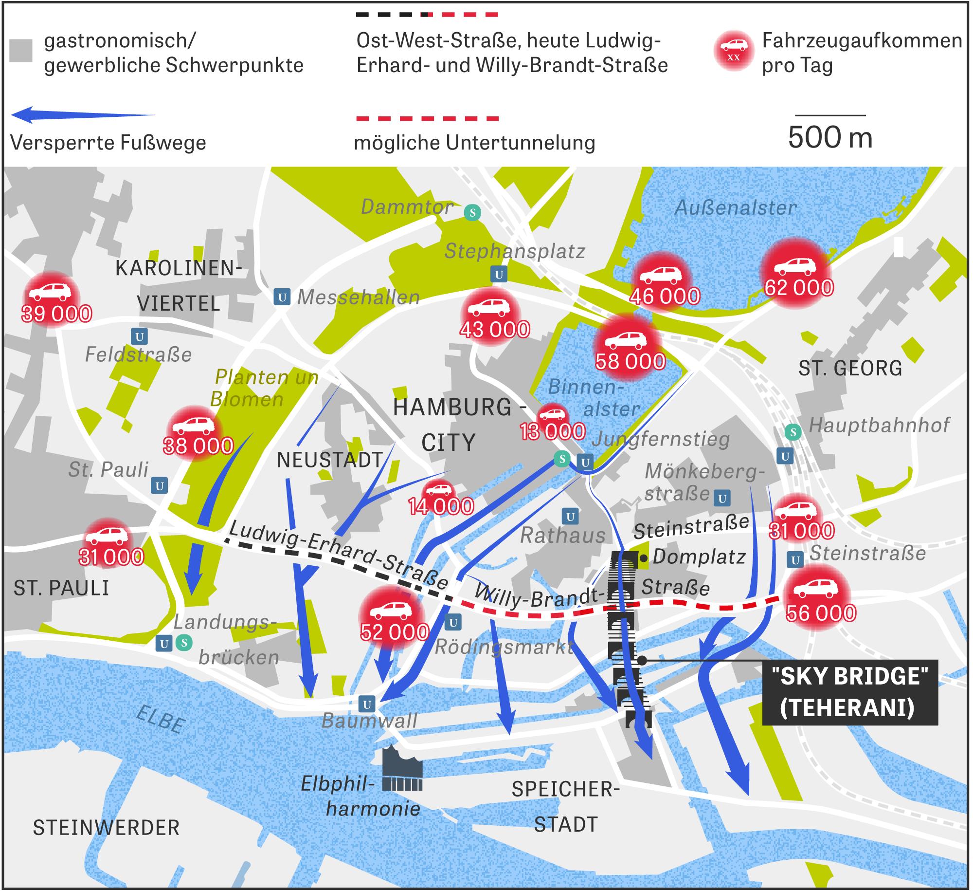 Hamburger Innenstadt Der Ost West Konflikt Zeit Online