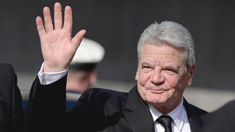 Joachim Gauck: Bundespräsident Joachim Gauck im April 2016