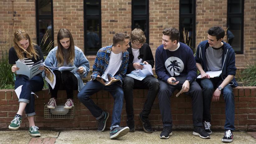 Eine Gruppe von Schülern