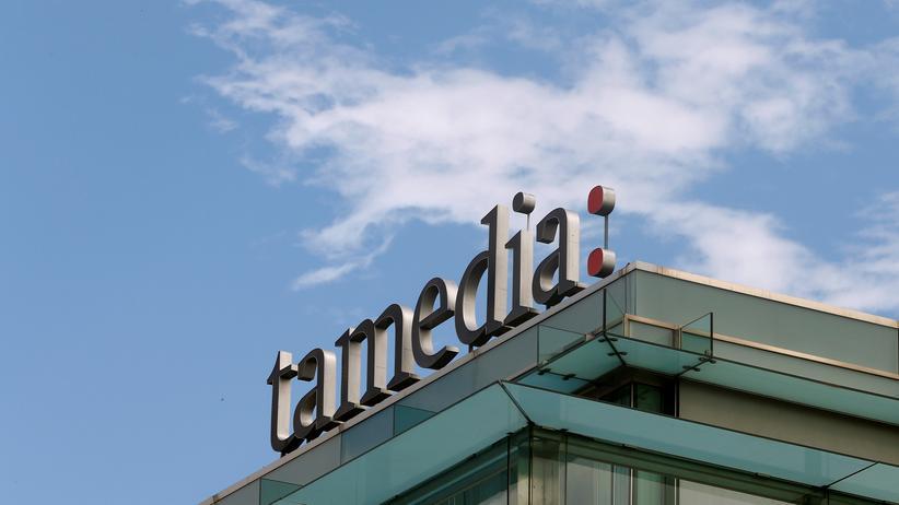 Logo der Mediengruppe Tamedia