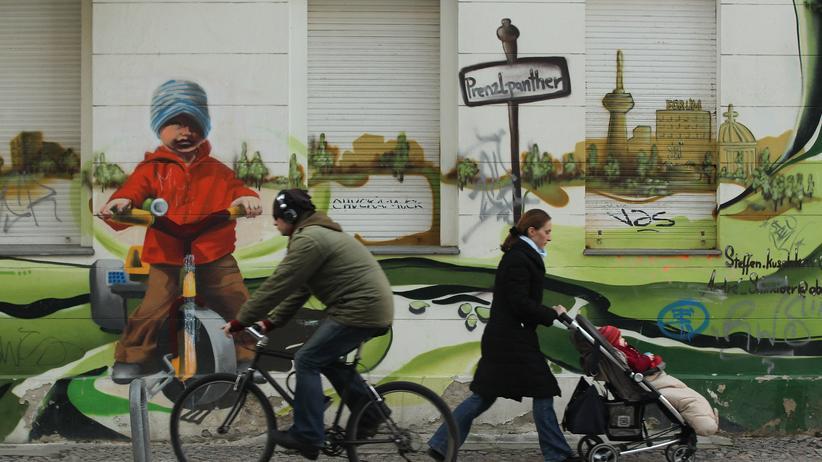 Straßenszene in Prenzlauer Berg
