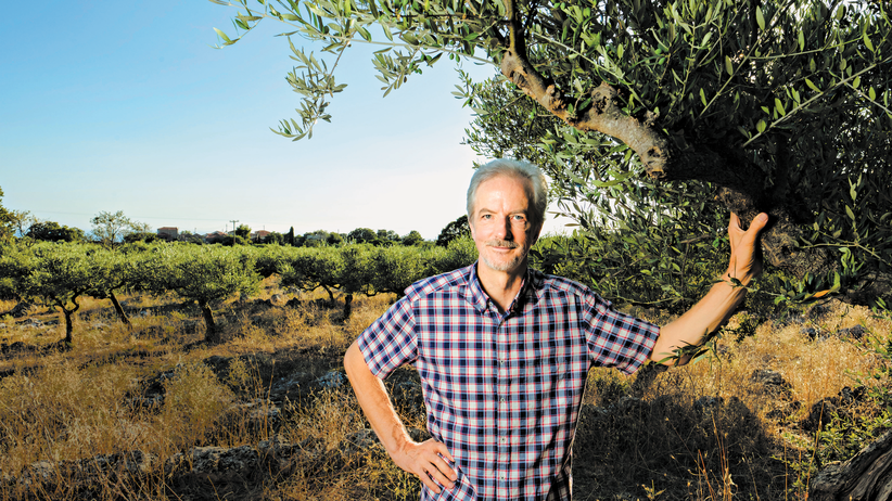 Fritz Bläuel: Pionier am Peloponnes