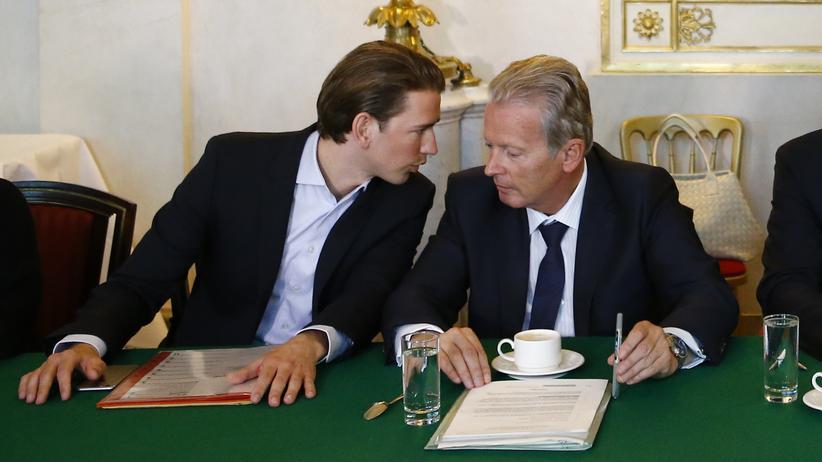 Sebastian Kurz & Reinhard Mitterlehner