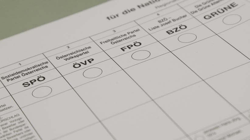 Präsidentenwahl in Österreich: Die Wahlkarte