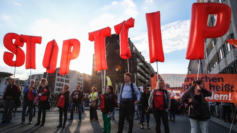 Anti-TTIP Demo Brüssel