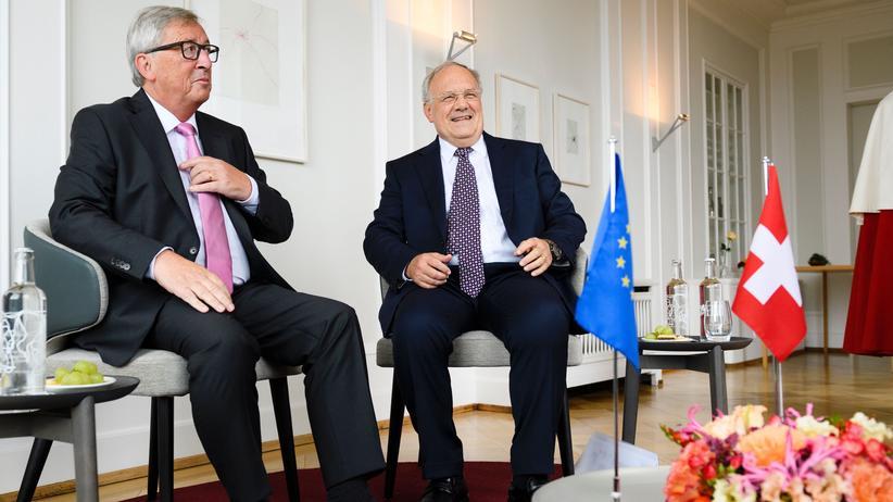 Jean-Claude Juncker & Johann Schneider-Ammann