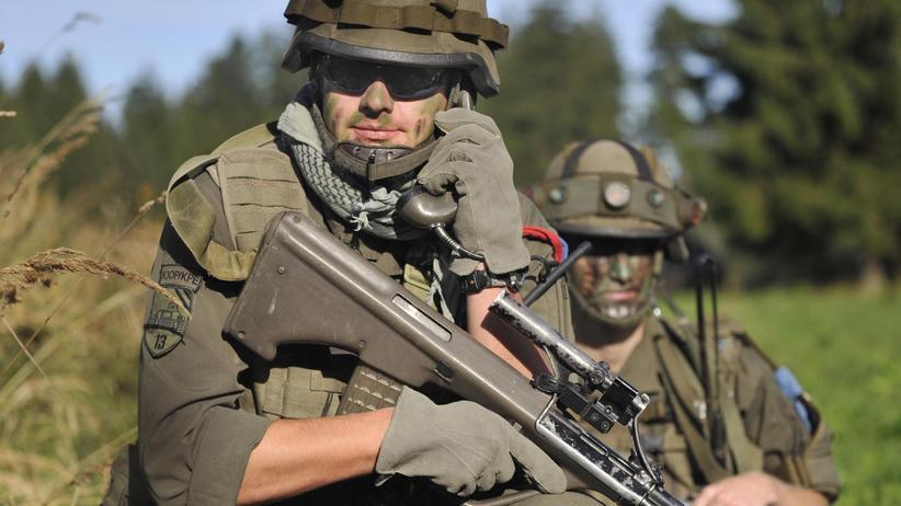 Soldaten des österreichischen Bundesheers
