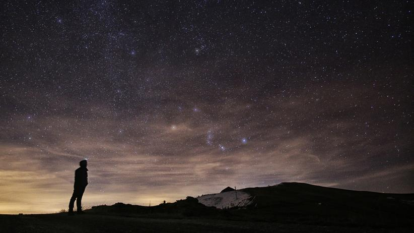 Meteoriten am Nachthimmel
