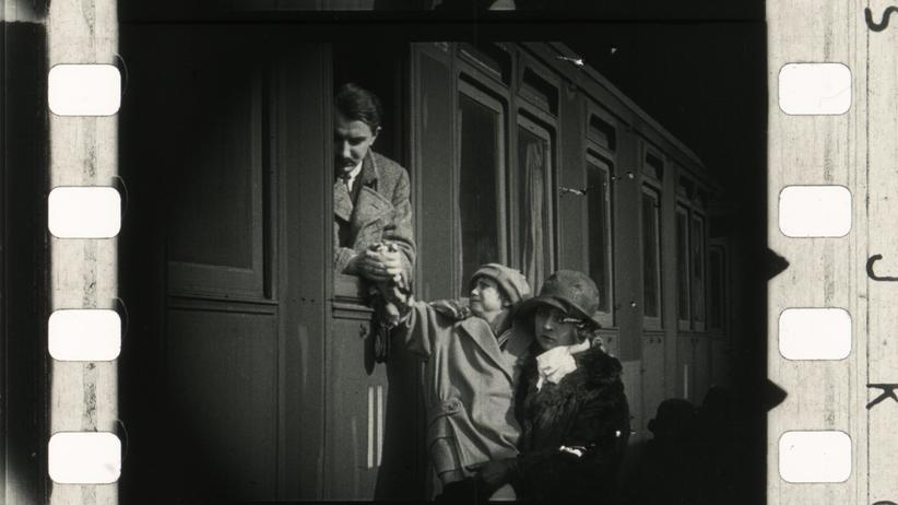 """Filmsequenz aus """"Stadt der Juden"""""""