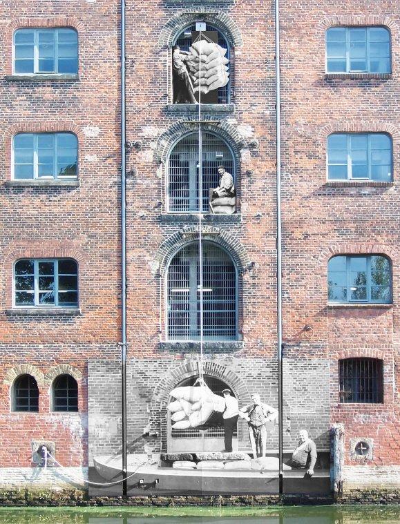 Reise in die Vergangenheit am Fleethaus im Binnenhafen Harburg
