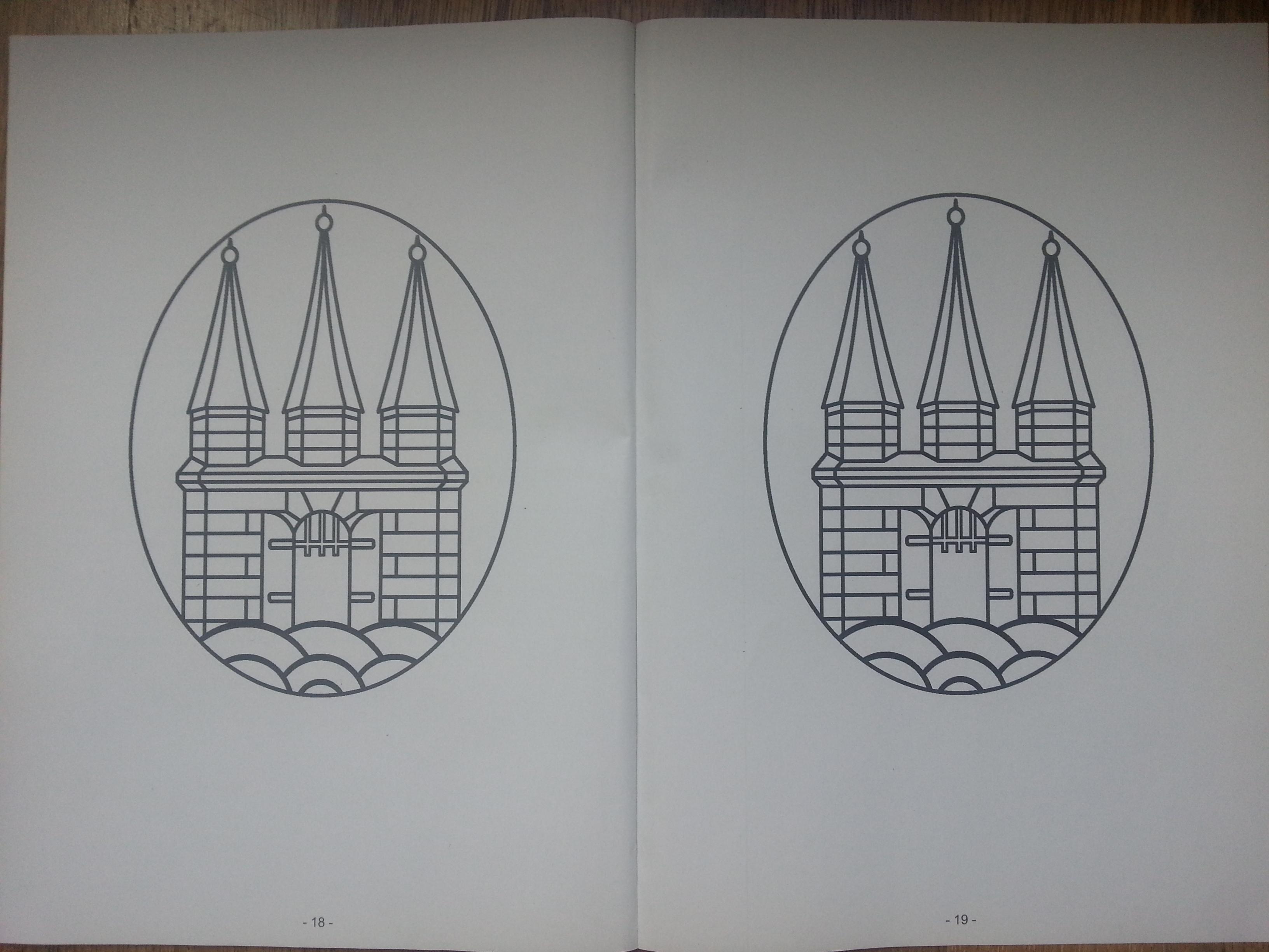 Das 20-seitige Info-Heft zum Bürgerentscheid Elbstrand enthält viermal das Hamburg-Mandala zum Ausmalen – wann gibt's die Stifte?