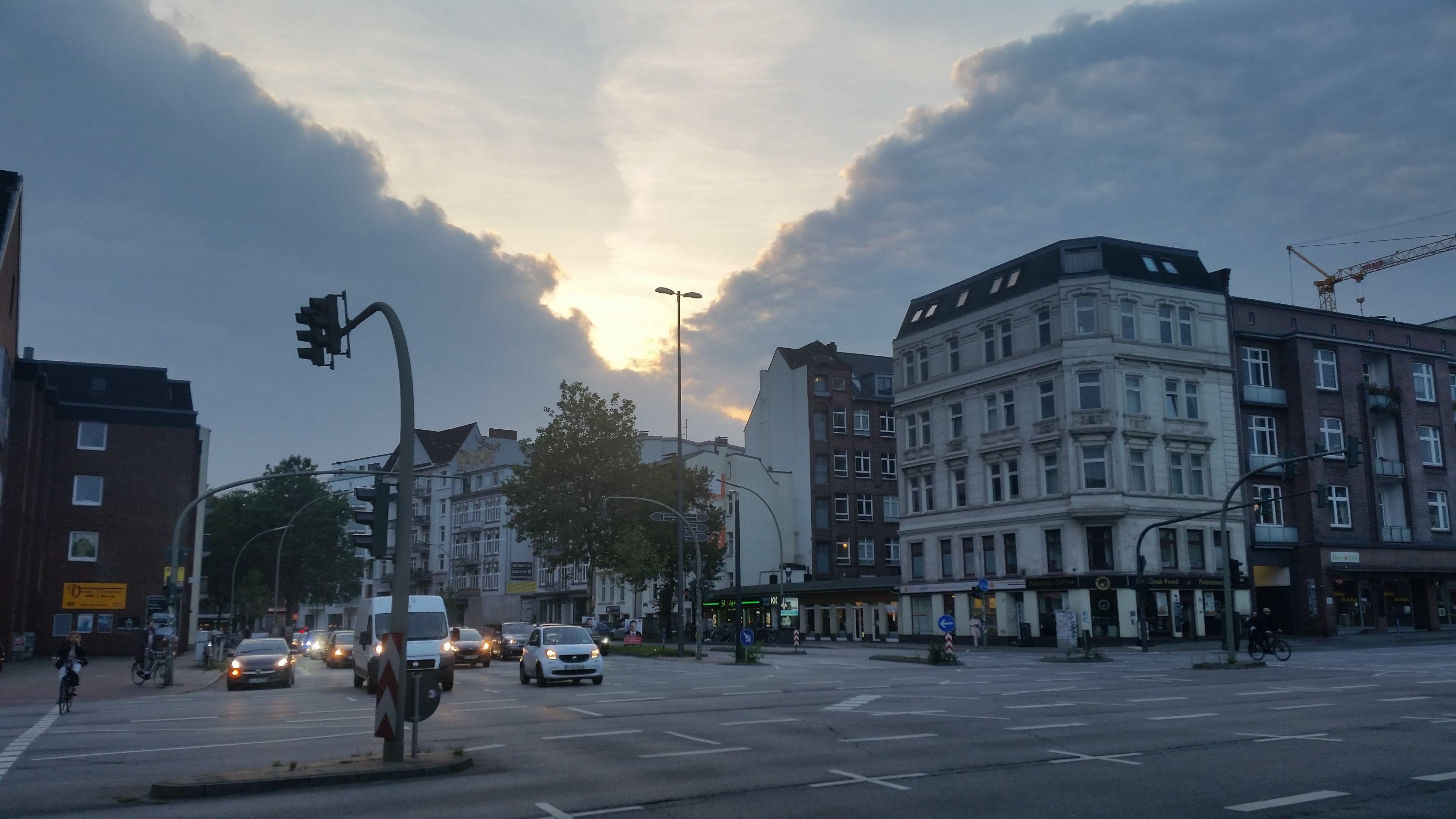 Wer wird denn da behaupten, in Hamburg gäbe es keine Berge