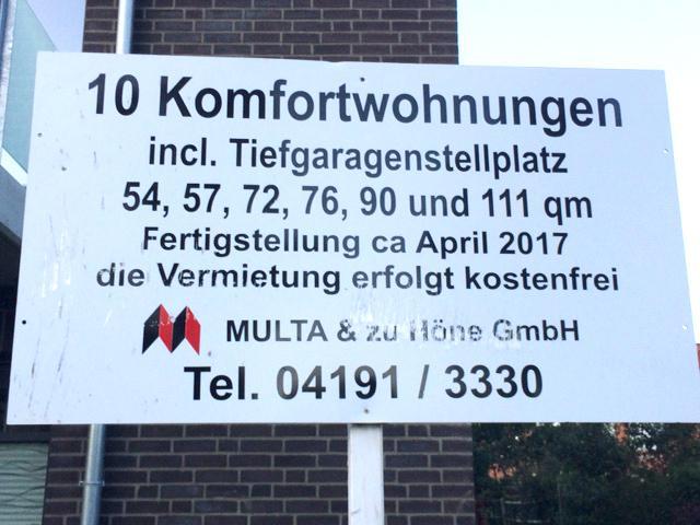 Kostenfreie Vermietung? Die Hamburger Wohnraumkrise scheint endlich überwunden.