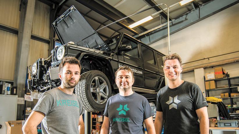 Elektromobilität: Trio unter Strom
