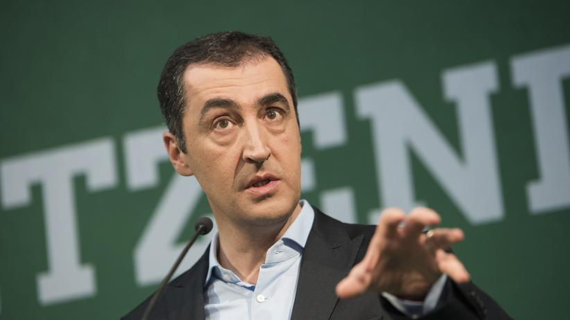 Green party: Leader of Bündnis90/Die Grünen, Cem Özdemir