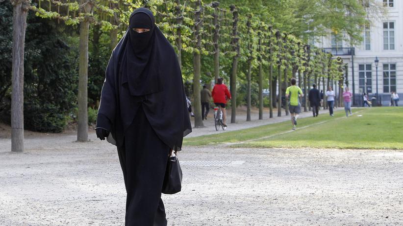 Radikalisierung: Eine Muslima im Nikab