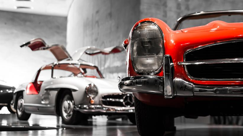 Made in Germany: Mercedes-Benz Museum in Stuttgart