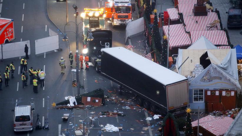 Anis Amri: Der Anschlag auf dem Weihnachtsmarkt am Berliner Breitscheidplatz.