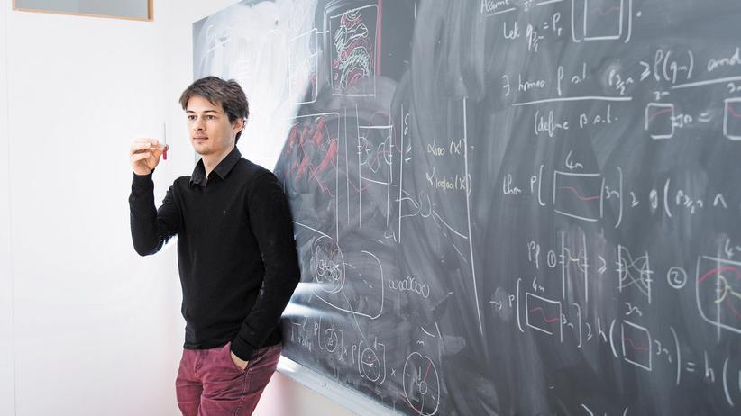 Mathematik: Vincent Tassion, 30, in seinem Büro an der ETH.