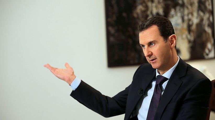 Giftgas: Der syrische Präsident Bashar al-Assad in Damaskus