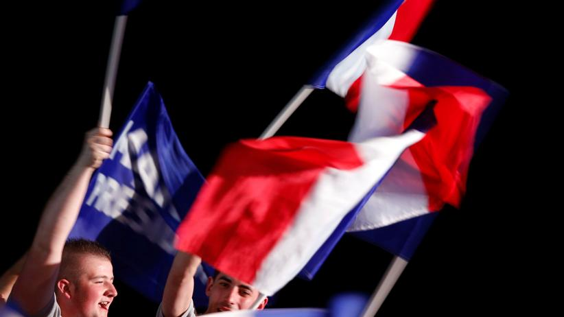 Wahl in Frankreich: Unterstützer des Front National