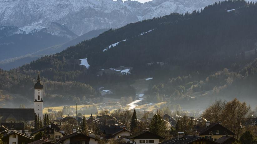 Feinstaub: Zu sehen ist der Feinstaub Garmisch-Partenkirchen nicht
