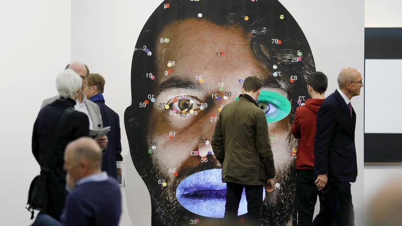 Art Cologne: Bei der Eröffnung der Kunstmesse Art Cologne am 25. April 2017