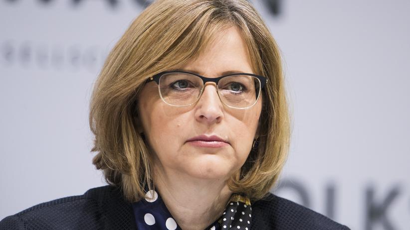 Was bewegt Hiltrud Werner?: Auf der Pressekonferenz von VW im März gab es von ihr nur Worthülsen.